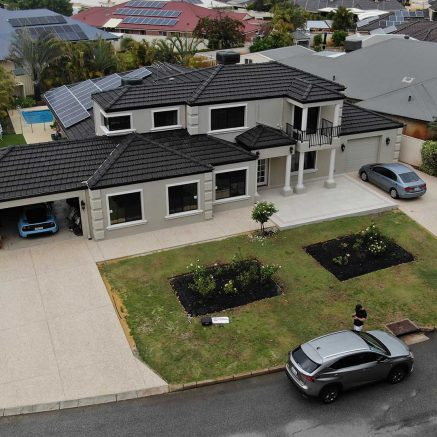 concrete driveways perth