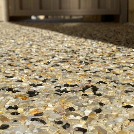 exposed aggregate - boral expose - yanchep